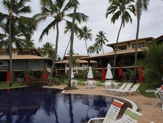 Praia do Forte - Apartamento em Condominio a Beira Mar