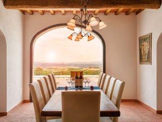 ISOLA SERENA - New Private Luxury Villa - Chianti - Pool & Stunning Views