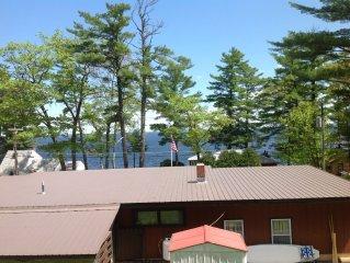 Family-friendly 3 BR home for Sebago Lake Vacation, sleeps 6-8