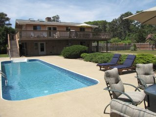 Katama Home with Pool, Close to South Beach, Edga