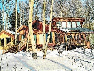 Delightful Rustic Home 10 minutes from the Historic Town of Telluride CO