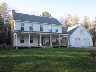 Modern Farmhouse on Ten Wooded Acres.  Close to 4 Ski Resorts.