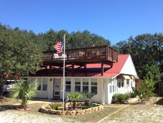 All Decked Out - Renovated Outdoor Cookhouse - Gulf Views - Booking Summer 2017!