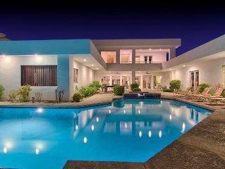 LA'ROSA 7800sf Contemporary  Villa With Basketball & Tennis Court