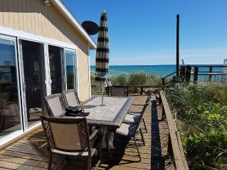 LAKE MICHIGAN BEACHFRONT! PRIVATE BEACHFRONT!