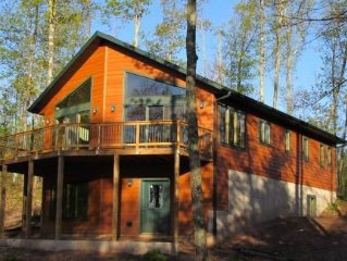 Secluded Cabin On Private Lake - Great For Families - Pet Friendly