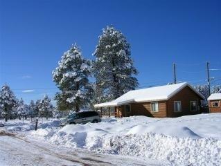 Cozy Log Cabin for Vacation Rental in Flagstaff, Arizona