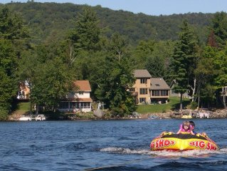 Any season enjoy what the lake has to offer - swimming, skiing, fishing,