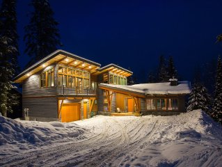 Mountain Modern design at its Finest.  Newly built 4000 sq. ft. home at KHMR.