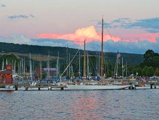 Seneca Sunset Vacation Rental - Walking to Watkins Glen Attractions