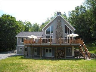 Beautiful, New Custom Built Timber Frame Home, Sleeps 12