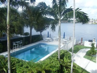 Beautiful Intercoastal Condo Steps To The Ocean!!!