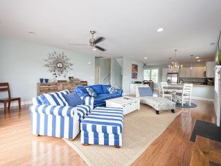 Newly built 5 br home w/hot tub and awesome bay views; sleeps 13 people