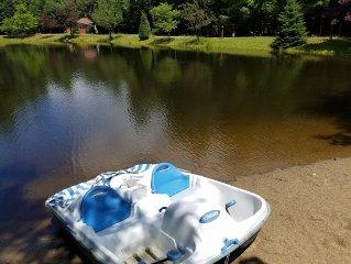 Private Adirondack Retreat With Private Sandy Beach Close To All Season Events