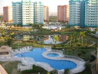 Flat na Vila Pan-americana na Barra da Tijuca/RJ - 1 suite