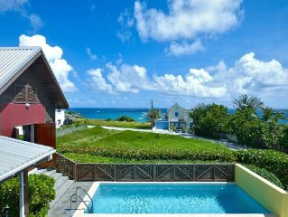 Sea View Villa & Pool - Near Famous Crane Resort - Cool For Family & Friends