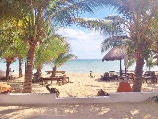 Luxury Beach villa -Mahahaul-Costa Maya-Diving- Fishing-Family oriented-quiet