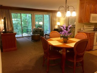 1 BR Kingsmill Resort Condo minutes to Colonial Williamsburg!