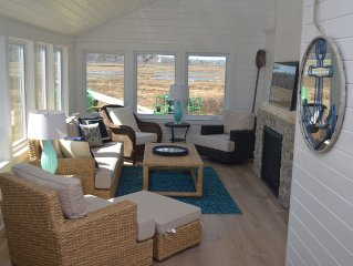 ON THE MARSH WITH WATER VIEWS AND SUNSET- EXTREMELY CHARMING