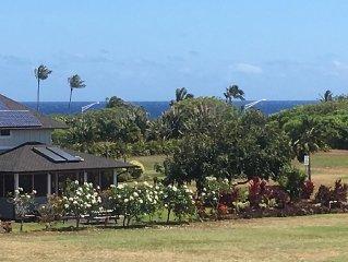 KAUAI Poipu Beach Escape to Tropical Paradise!...Beautiful Mountain/Ocean views!