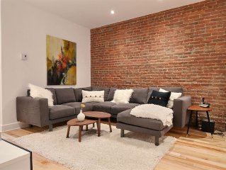 Heart Of Montreal !! Le Plateau ! Recently renovated & very modern