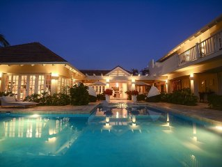 Colonial Luxury Golf & Ocean View Villa with live-in butler, chef & maid (5 BDR)