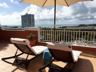 Ocean Breeze Hilltop Penthouse with Spectacular Views