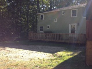 Beautiful 4 season home on  Big  Sebago Lake