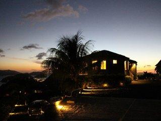 Villa Casa Flamboyant: 'Where the sun sets'