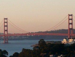 San Francisco and Golden Gate Views, alquiler vacacional en Point Richmond