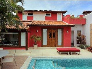 Beautiful house just 50 meters from Geriba Beach