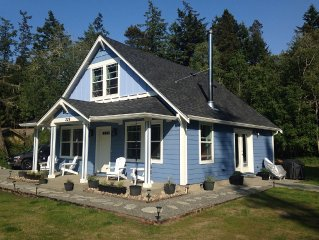 Charming new Westcott Bay view home near Roche Harbor