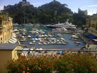 'La Perla', In the heart of Portofino!! Ocean Views!