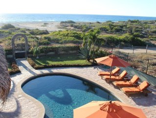 Spacious 4 Bdrm Oceanfront Villa w/pool provides amazing views from every room.