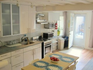 2Br with a Delightful Garden Off Bedford Ave in P