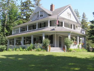 Large Victorian on 4 Acres Overlooks Frenchman's Bay, Provides Perfect Retreat
