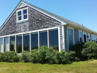 Updated 1950s Vineyard Ranch With Stunning Views of Menemsha Pond, Pet Friendly