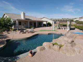 Relax and Enjoy Tucson in Style.  Pool, hot tub, outdoor kitchen, view