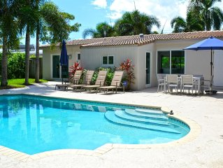 Contemporary / Fully Renovated / Open Floor Plan / Private Heated Pool
