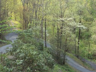 Beautiful Smoky Mountians, spectacular 3400 Ft.high view.Creek on property.