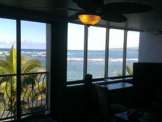 North Shore Oahu Beachfront Condo, 2BR / 2BA