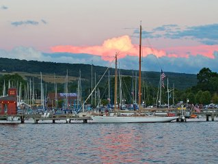 Brewers Perch Vacation Rental - Walking To Watkins Glen Attractions