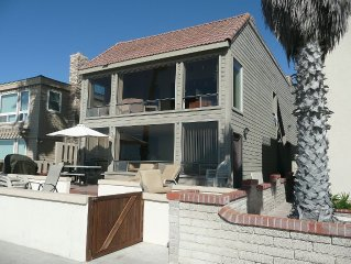 Beautiful Oceanfront 3bd/2ba House! 10 Feet From The Sand. Large Patio!