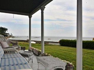 Charming Waterfront Home with Spectacular Views and Direct Private Beach Access!