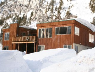 6 Bedroom/Bath Beautiful Light Filled Ski Home Perched Between Alta And Snowbird