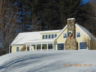 20 Acres, Ski House, 6 bdrms., Sleeps 16. Mtn. Views,  5 mi. to Ski Area