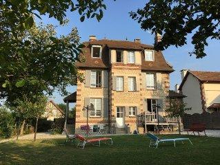Historic Villa In Normandy Near Deauville