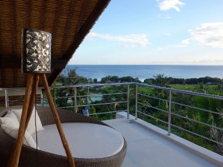 New Luxury Beach & Cliff Villa with Unbelievable Panoramic Views