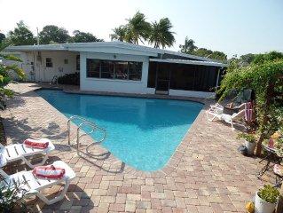 Heated Pool, 5 Min Drive From USA #1 BEACH SIESTA KEY BEACH