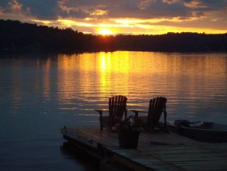 Rustic, Romantic, Cozy, Comfy, Adirondack Cabin!  BEST Sunsets!